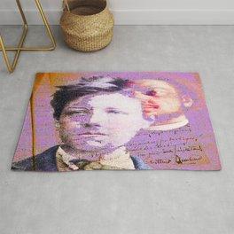 Rimbaud & Verlaine Rug