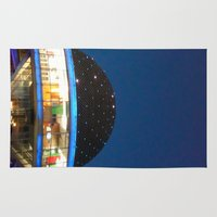 argentina Area & Throw Rugs featuring Planetario Buenos Aires Argentina by Mauricio Santana