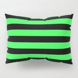 Stripes Green & Black Pillow Sham