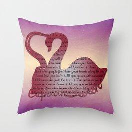 It's True Love Throw Pillow