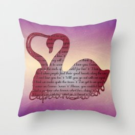 It's True Love Throw Pillow