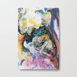 Multicolor abstract Metal Print