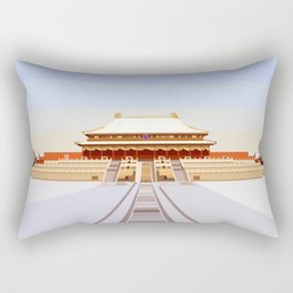 Forbidden City, Beijing, China Rectangular Pillow