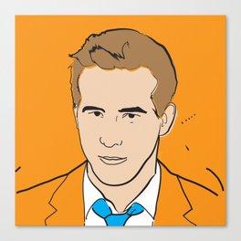 Ryan Reynolds Canvas Print