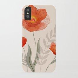 Summer Flowers II iPhone Case