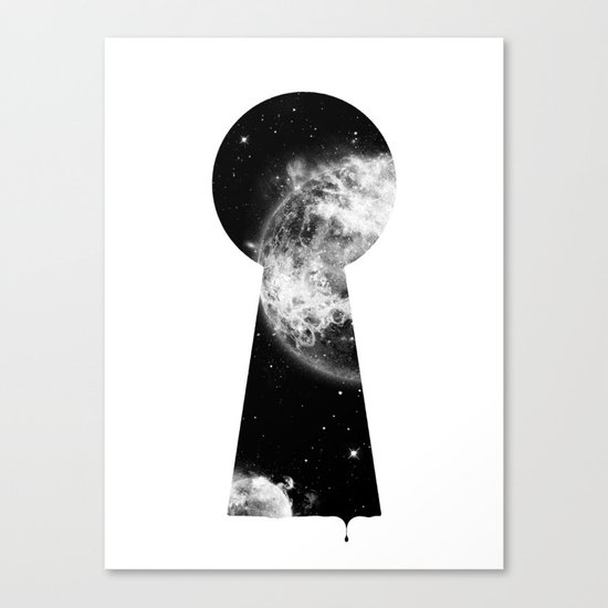 Key To The Stars Canvas Print