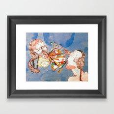 argue argue Framed Art Print