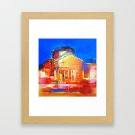 "Oil Painting ""Night"" By Diana Grigoryeva Framed Art Print"
