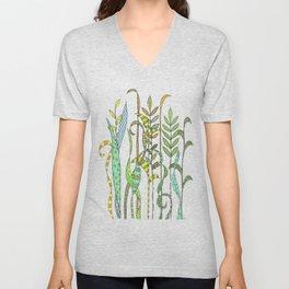 Summer Grass Unisex V-Neck