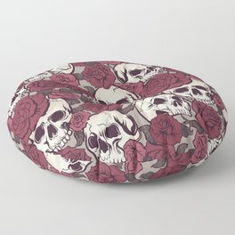 Rock and Roses Floor Pillow