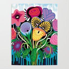 Dripping Gardens Poster