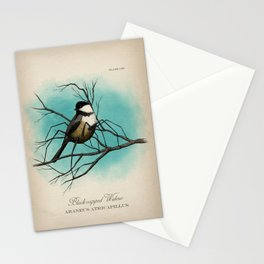 Black-capped Widow Stationery Cards