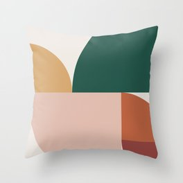 Abstract Geometric 11 Throw Pillow