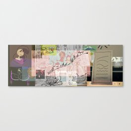 collage winter 2016 Canvas Print
