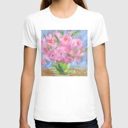Teacup Pinks T-shirt