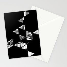 Geometric Flowers Stationery Cards