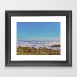 Above Cloud • Appalachian Trail Framed Art Print