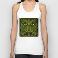 maori Tank Tops featuring Maori style 01 by Alexis Bacci Leveille
