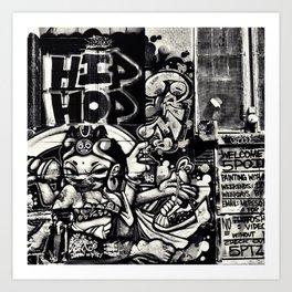 Hip Hop Art Print