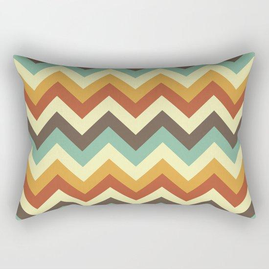 Zigzag Rectangular Pillow