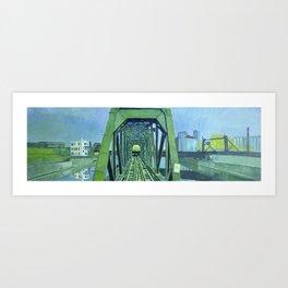 Railway Bridge III Art Print