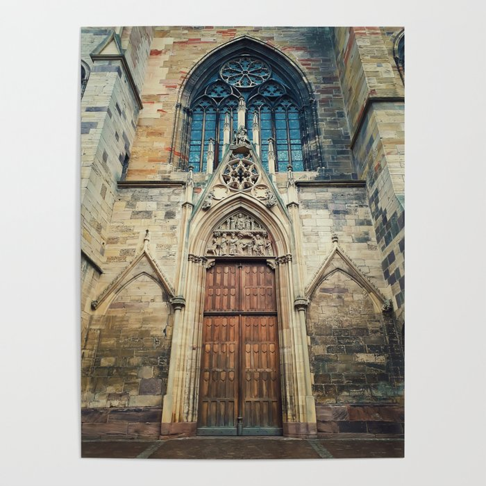 St Martin Church Poster