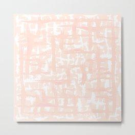 Tie-die, pink, light-pink, pale-pink, Tiedie, Tyedye, Tyedye, Tiedye, abstract, line, minimal, stripes. Metal Print