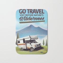 Go Travel - Visit mother natures wilderness. Bath Mat