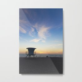 Sunset Over California Metal Print