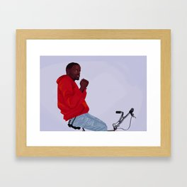 Boys / Wkabi Framed Art Print