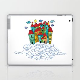in the clouds Laptop & iPad Skin