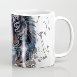Tiger and Butterfly Coffee Mug