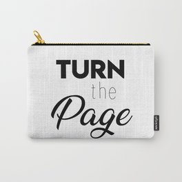 Turn the page Carry-All Pouch
