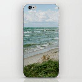 Windy Day on Lake Michigan iPhone Skin