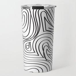 Funky Lines Travel Mug