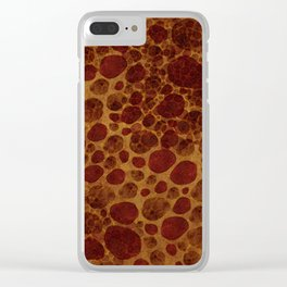 """""""Giraffe Cave Painting"""" Clear iPhone Case"""