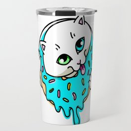 Donut Puss Travel Mug