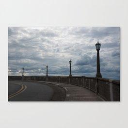 The Vista House Lamps Canvas Print