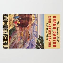 Vintage poster - Grand Canyon Rug