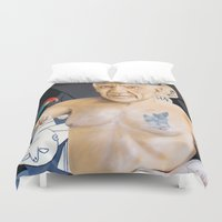 picasso Duvet Covers featuring Picasso by Matthew Lake