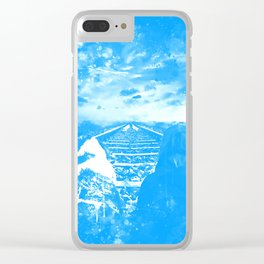 wanderlust wswb Clear iPhone Case