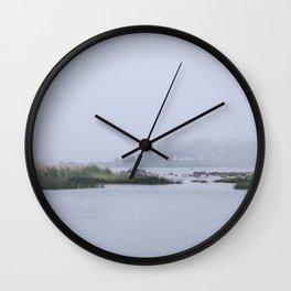 Misty Island Wall Clock
