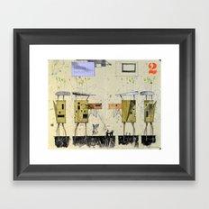 Domicile 02_Maple Syrup Moon Framed Art Print