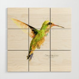 Hummingbird I Wood Wall Art