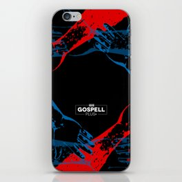 Close to the net iPhone Skin