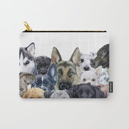 Dog all star, friends original painting print by miart Carry-All Pouch