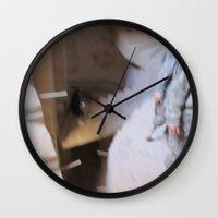 escher Wall Clocks featuring Escher 2 by KMZphoto