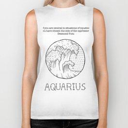 Aquarius Biker Tank