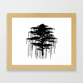 Retinal Burn #2 Framed Art Print