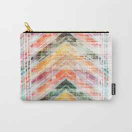 Sun Kissed Chevron Carry-All Pouch